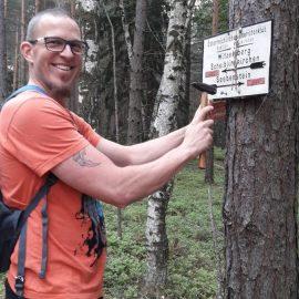 Markierungsarbeiten in Scheiblingkirchen