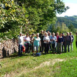 ÖTK Neunkirchen - Senioren Wanderung von Bromberg nach Innerschildgraben