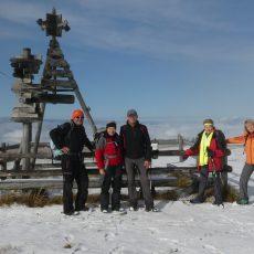Abschusswanderung Roseggerhaus Amundsenhöhe