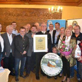 OeTK Neunkirchen - Gruppenfoto Verabschiedung Gerhard Membier