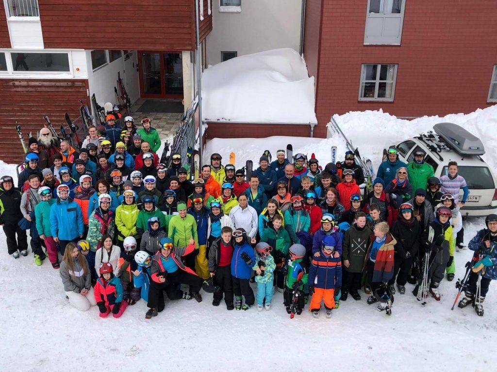 ÖTK Neunkirchen, Jungend - BundesjugendWintersportWochenende Planneralm - Gruppenfoto der Teilnehmer