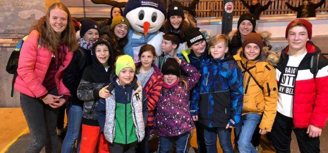 ÖTK Neunkirchen Jugend beim Wiener Eistraum 2020