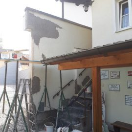 Renovierung im Klubheim