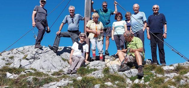 ÖTK Neunirchen Senioren Wanderung Gauermannhütte