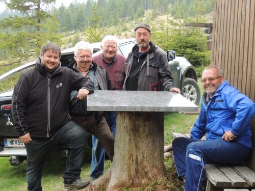 OeTK-Neunkirchen-Alpkogelhuette Fruehjahrsreinigung-2019 20190518-006