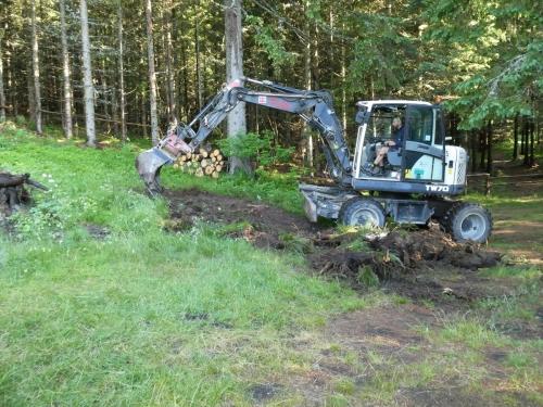 OeTK-Neunkirchen-Alpkogelhütte Baggerarbeiten 20190621-007