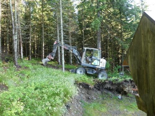 OeTK-Neunkirchen-Alpkogelhütte Baggerarbeiten 20190621-008