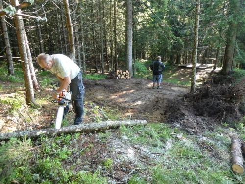 OeTK-Neunkirchen-Alpkogelhütte Baggerarbeiten 20190621-018