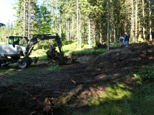 OeTK-Neunkirchen-Alpkogelhütte Baggerarbeiten 20190621-022