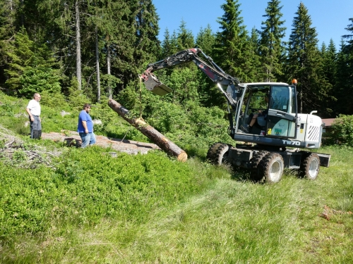 OeTK-Neunkirchen-Alpkogelhütte Baggerarbeiten 20190621-027