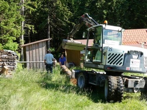 OeTK-Neunkirchen-Alpkogelhütte Baggerarbeiten 20190621-028