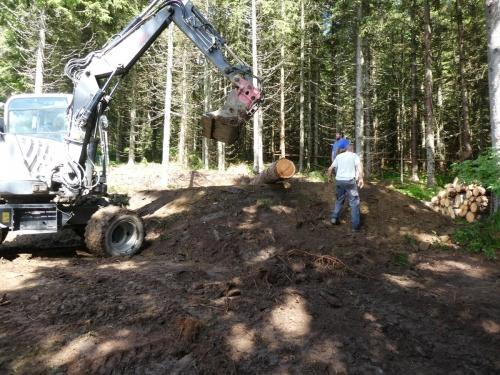 OeTK-Neunkirchen-Alpkogelhütte Baggerarbeiten 20190621-031
