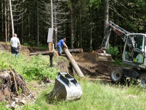 OeTK-Neunkirchen-Alpkogelhütte Baggerarbeiten 20190621-035