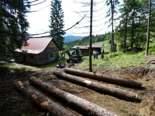 OeTK-Neunkirchen-Alpkogelhütte Baggerarbeiten 20190621-036