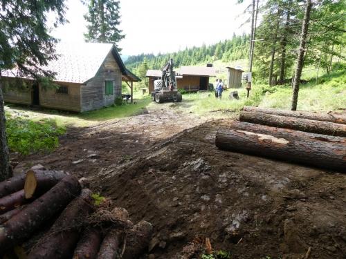 OeTK-Neunkirchen-Alpkogelhütte Baggerarbeiten 20190621-037