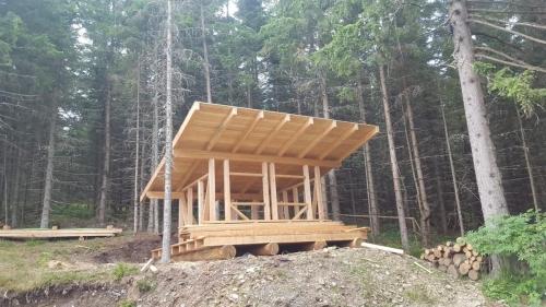 OeTK-Neunkirchen-Alpkogelhütte Neubau-Lagerhütte-2019-003