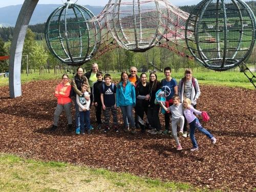 OeTK-Neunkirchen-Jugendwanderung Motorikpark CoronaCoaster 20190518-029